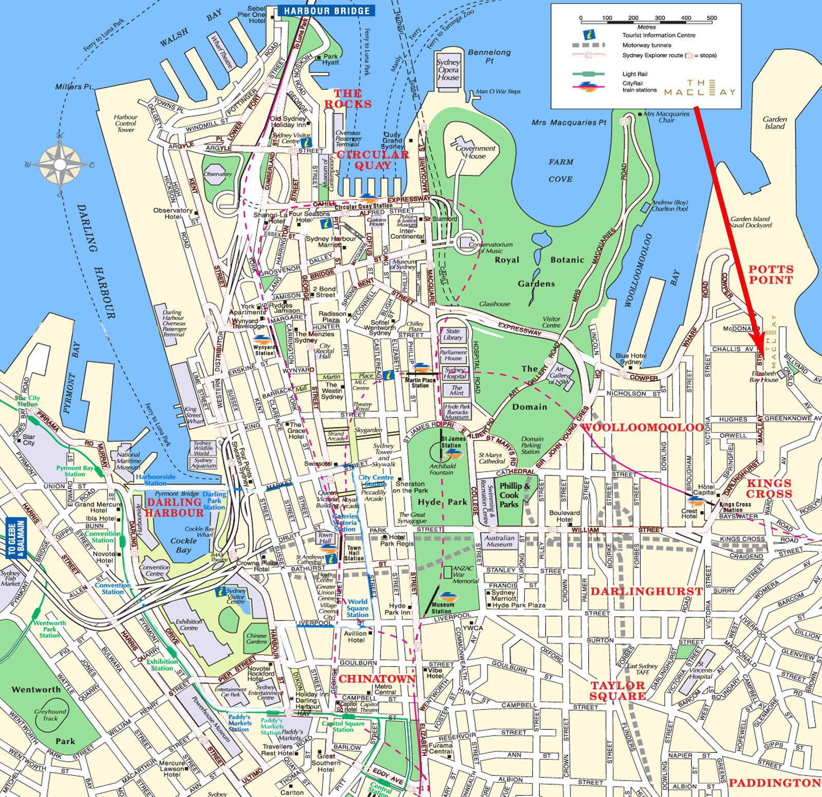 sydney-map