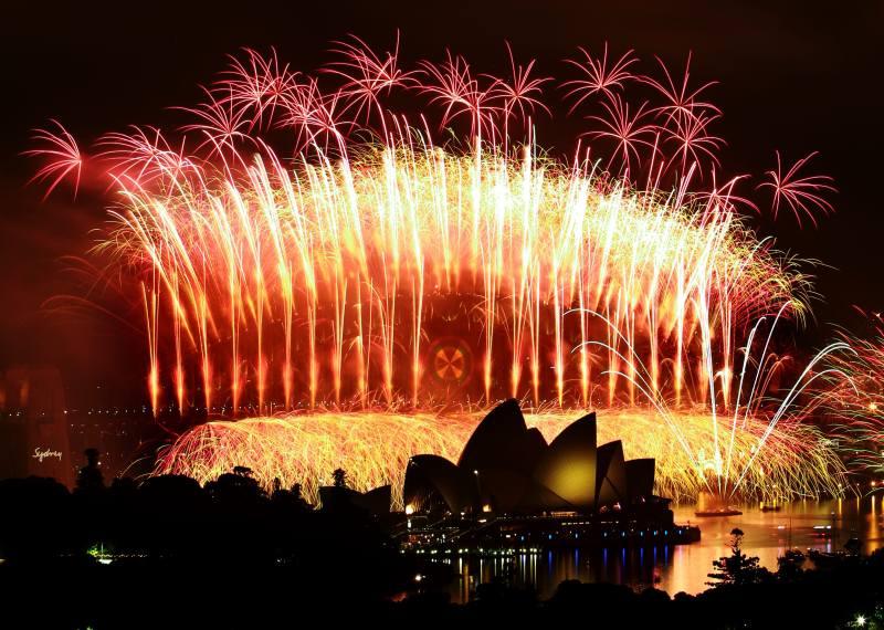 Harbour Bridge Fireworks