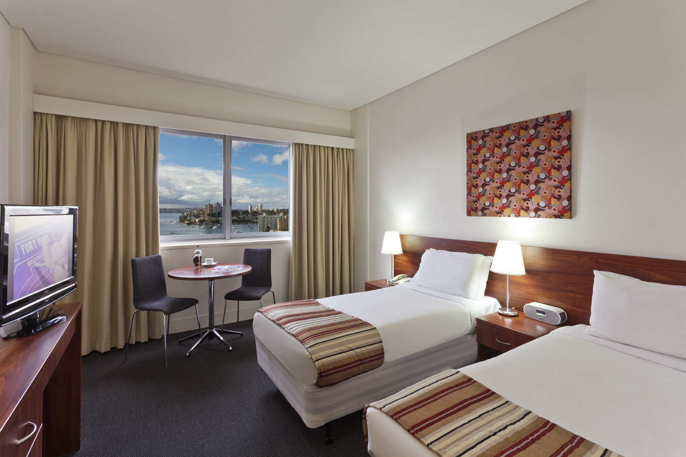 Twin Studio Room at The Macleay Hotel in Potts Point