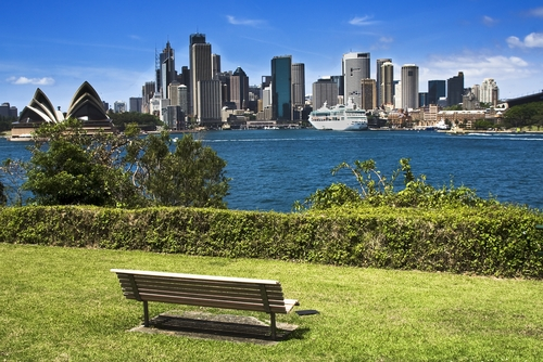 Potts Point Park near The Macleay Hotel in Sydney