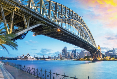 The Sydney Harbour Bridge near The Macleay on Macleay Street