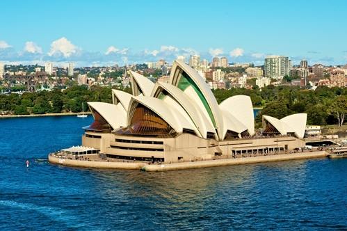 Sydney Opera House located near Potts Point and The Macleay
