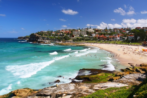 Bondi Beach near The Macleay in Sydney
