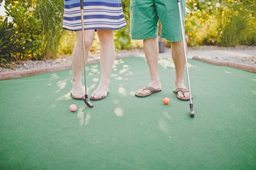 You've probably been on countless mini-golf dates - why not spice it up a little?